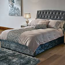 Bed Frames For Sale Uk Lugano Double Silver Bed Frame With Wenge Legs