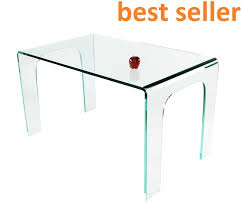 all glass dining table bent glass dining table dt017 clear glass nest tables foshan justgo