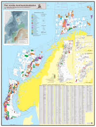 Barents Sea Map Map Of The Norwegian Continental Shelf Norwegian Petroleum