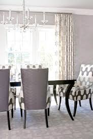 Dining Room Sets With Fabric Chairs by Dining Room Cozy Elegant Dining Room Design With Rectangular Brown