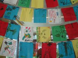 Tibetan Flags Prayer Flags Flutter In The Storytime Room Mandala On The Yampa 2010