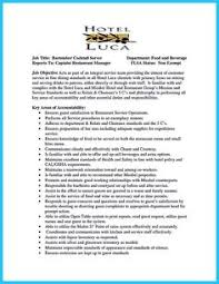 Bartender Resume Example by Skills Are Needed Of Course In Every Job But For Claim Adjuster