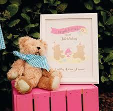 Teddy Bear Centerpieces by Backyard Teddy Bear Picnic Party Girls Birthday Hostess With