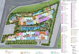 forest woods site plan design forestwood condo site layout plan