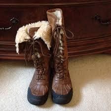 ugg s adirondack tweed boots 54 ugg boots ugg australia adirondack leather calf