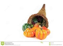symbols of thanksgiving day horizontal stock image image