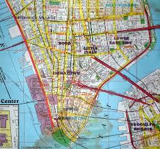 Soho Nyc Map Soho Manhattan Map Montana Map