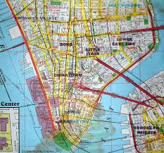New York Manhattan Map Huge Map Of Lower Manhattan Hope You Have Dsl