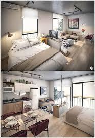 bed and living thiết kế phòng khách kết hợp phòng ngủ cho không gian nhỏ