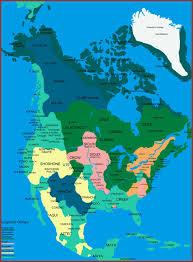 américa del norte primeros pobladores mapas maps pinterest