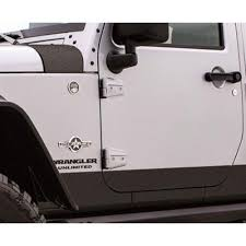 rhino jeep rampage 110082 wrangler jk body armor cover kit rhino lined 2007