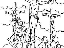 17 jesus cross coloring page sketches of jesus on the cross