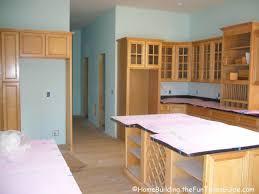 Building Upper Kitchen Cabinets Upper Kitchen Cabinets Raised Kitchen Cabinets Farmhouse Kitchen