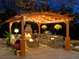 barbecue cuisine d été barbecue dans cuisine séduisant cuisine d ete en bois idées