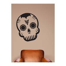 dia de los muertos wall quotes decal wallquotes com day of the dead skull