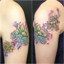 best 25 succulent tattoo ideas on pinterest succulent water