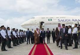 sultan hassanal bolkiah plane saudi king holds talks with sultan of brunei the peninsula qatar