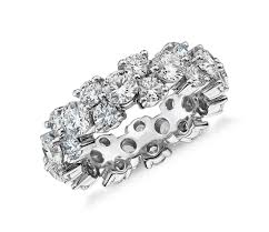 eternity rings diamonds images Women 39 s 5ct garland diamond eternity ring in platinum executive ice jpg