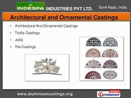 aluminium castings by indespa industries pvt ltd coimbatore