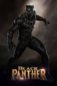 poster for upcoming black panther 2018 movie from marvel studios