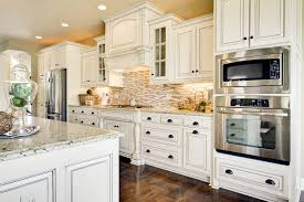 countertops kitchen granite and backsplash ideas white cabinet