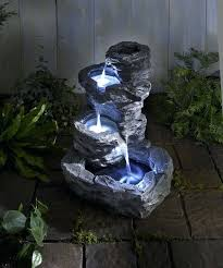water fountain with lights garden fountains with lights garden fountain inspirational outdoor