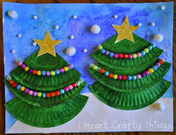 christmas tree art for kids christmas lights decoration