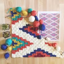 Southwestern Style Southwestern Style Crochet Throw
