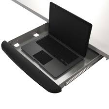 Lock Laptop To Desk by Safety Laptop Drawer With Lock Silver