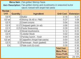 Food Cost Spreadsheet Free by 7 Food Cost Spreadsheet Balance Spreadsheet