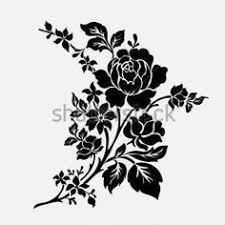 Rose Flower Design Flowers Flowers Silhouettes Vectors Clipart Svg Templates