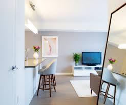 beautiful minimalist apartment with simple modern