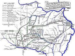 ozarks map ozarks history early ozark territory