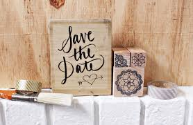 Rustic Save The Date Wedding Kit For Rustic Save The Dates