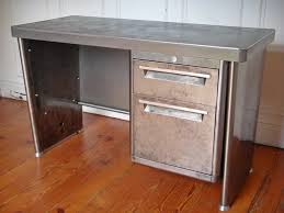 bureau industriel metal bureau usine bureau industriel style and steel jpg tables