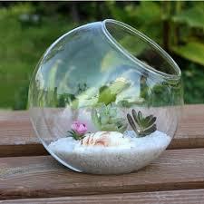 aliexpress com buy 2017 15cm clear round glass vase bottle