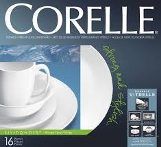 Corelle Dishes Walmart Amazon Com Corelle Livingware 16 Piece Dinnerware Set Winter