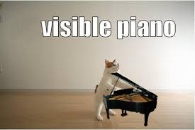 Piano Meme - visible piano cat meme cat planet cat planet