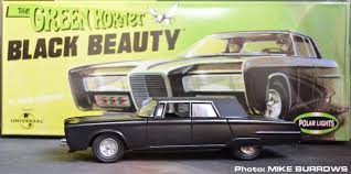Polar Lights Models Moonbase Central Green Hornet Part 6 Polar Lights Black Beauty