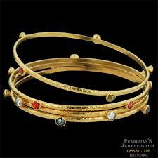 fine jewelry gold bracelet images Gurhan jewelry 24k gold white diamond skittle bangles jpg