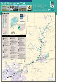 Ohio Area Code Map Designated Water Trails In Ohio