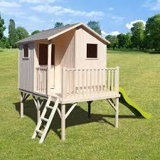 maisonnette de jardin enfant maisonnette en bois pour jardin tableau isolant thermique