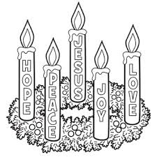 advent wreath kits advent wreath coloring page though candle themes may vary check