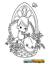 precious moments fishing coloring pages