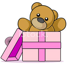 imagenes animadas oso oso de peluche de regalo dibujos animados stock vector freeimages com