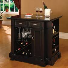 Kitchen Island Cart Plans by Resplendent Espresso Kitchen Island Cart With Wire Hanging Wine