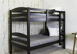 Bunk Beds With Bookcase Headboards Daybed Dark Brown Stained Wood Full Size Daybed With Bookcase