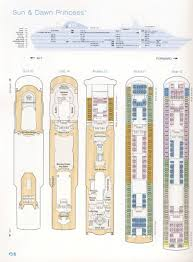 dawn princess deck plan