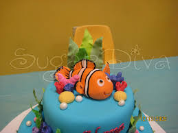 nemo cake toppers nemo cake topper sugar flickr