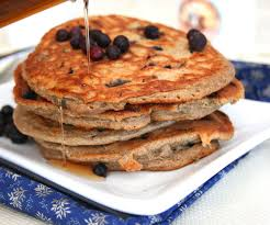 Blueberry Pancake Recipe Blueberry Buckwheat Pancakes Healthy Breakfast For Kids All